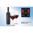 Rotwein-Set